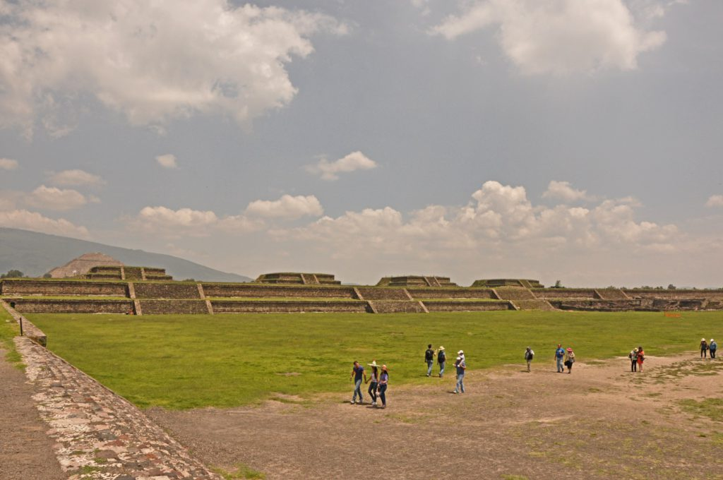 The Ciudadela in the Teotihuacan archaeological site
