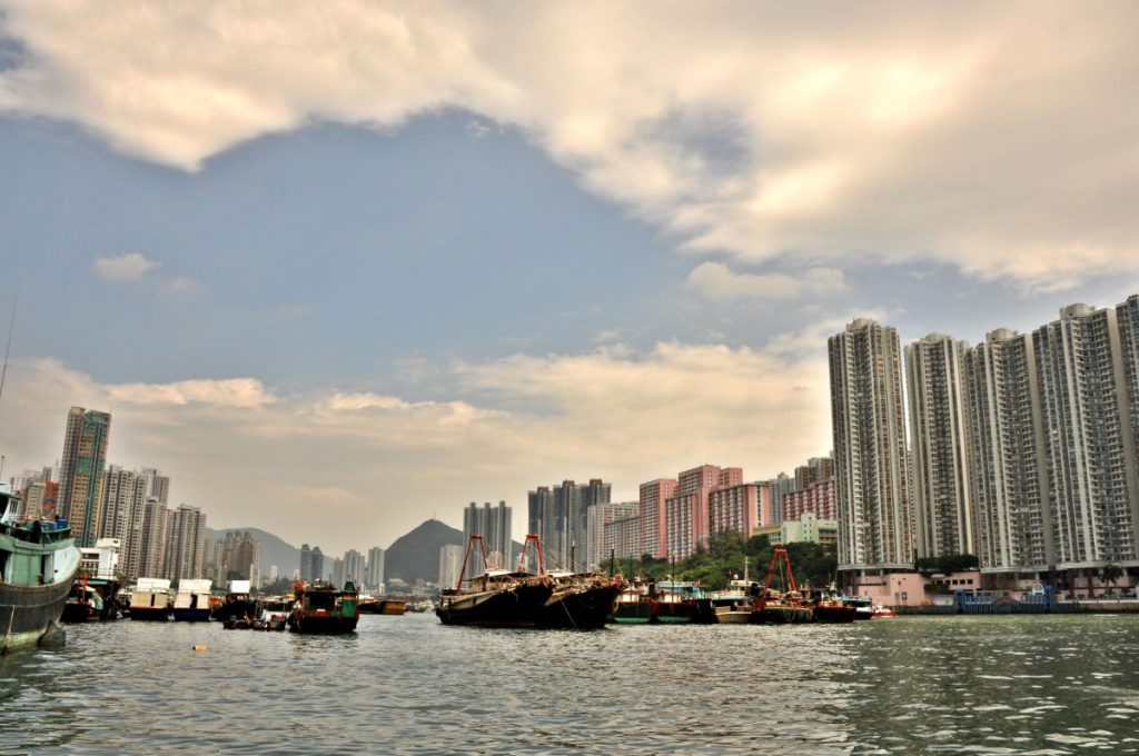 Aberdeen Harbor in Hong Kong is a special place.