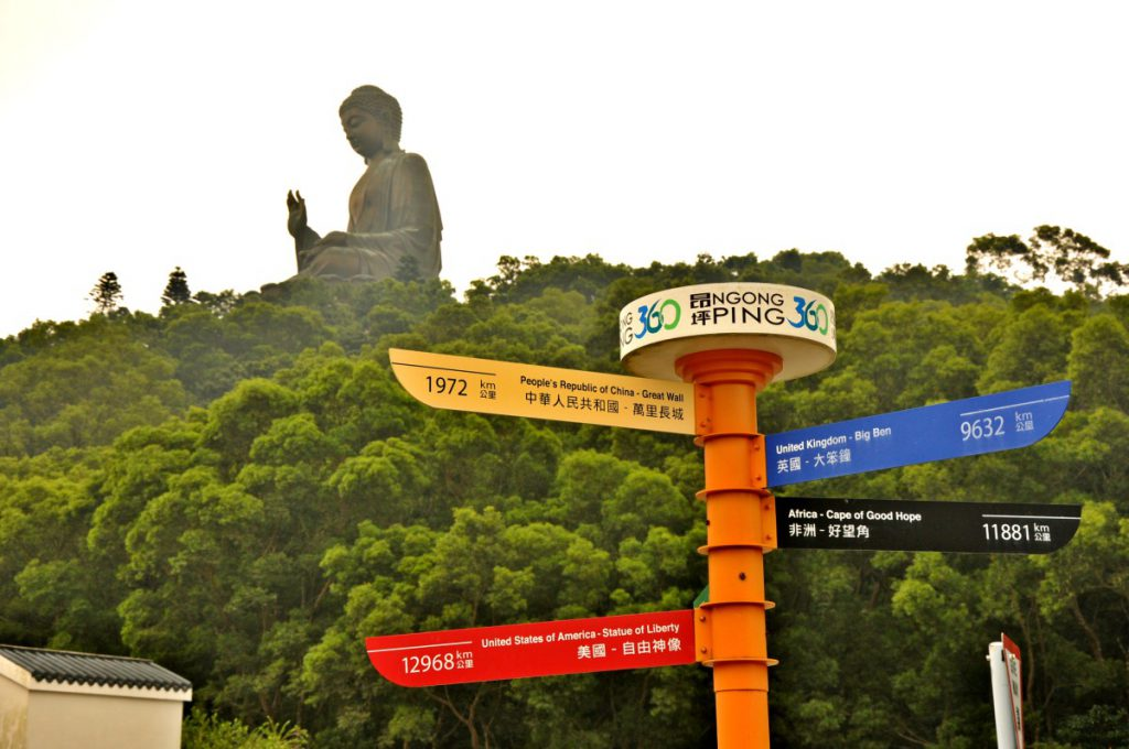 Tian Tan Big Buddha on Lantau Island
