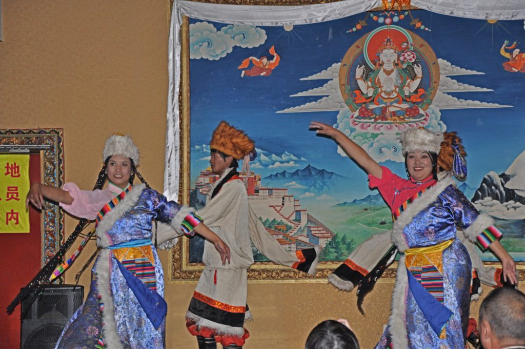 Folk Dance Performance in Lhasa, a special experience.
