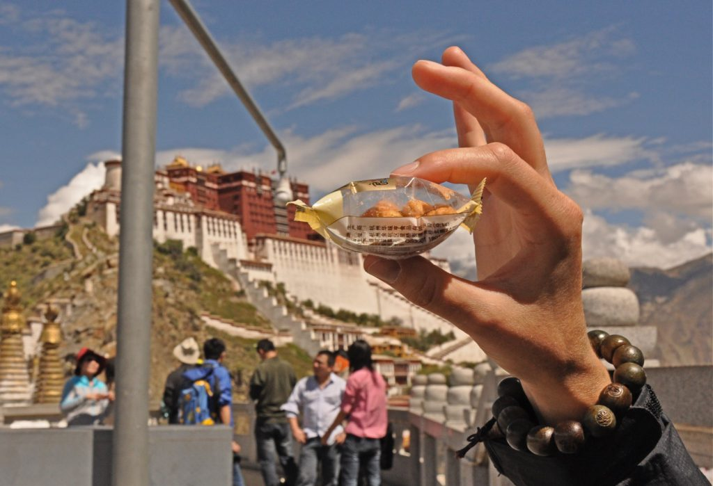 Lhasa, high altitude can make your stay less fun.