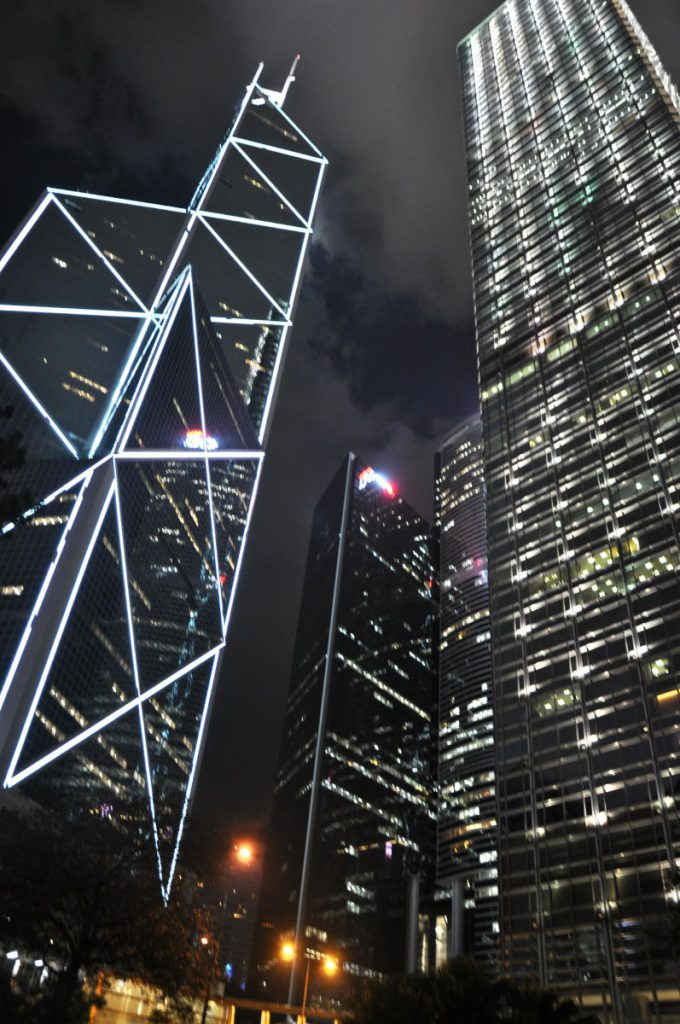 The Bank of China from the Statue Square
