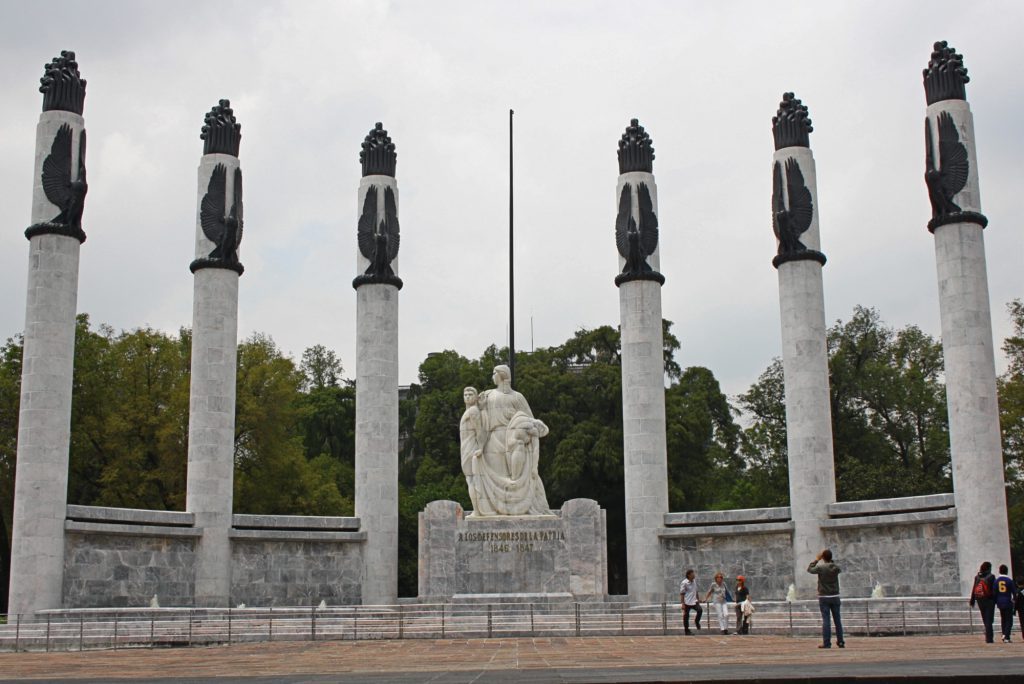 The Heroic Cadets Memorial is one of the best historic places in Mexico City