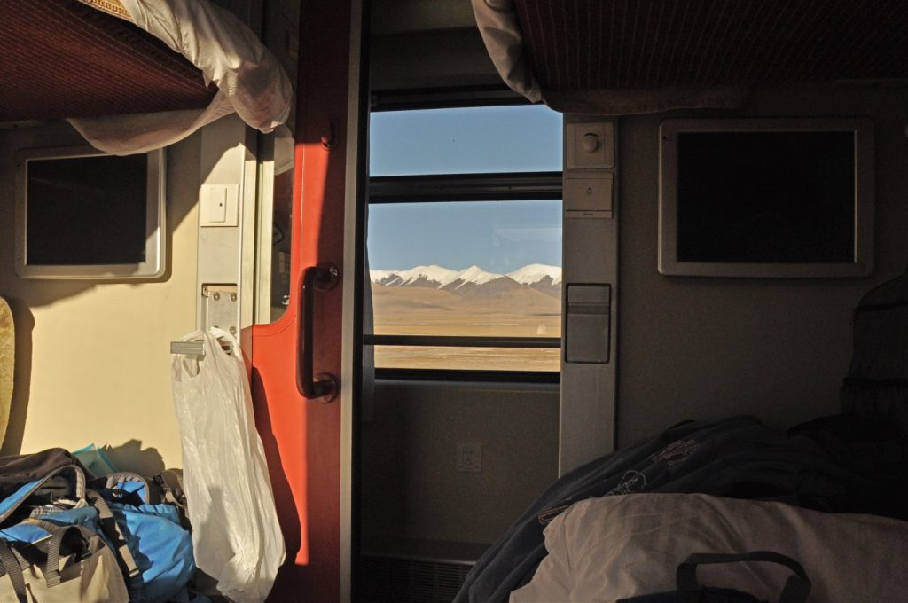 Taking the Tibet Train from Lhasa. A real travel tip but needs some trip planning