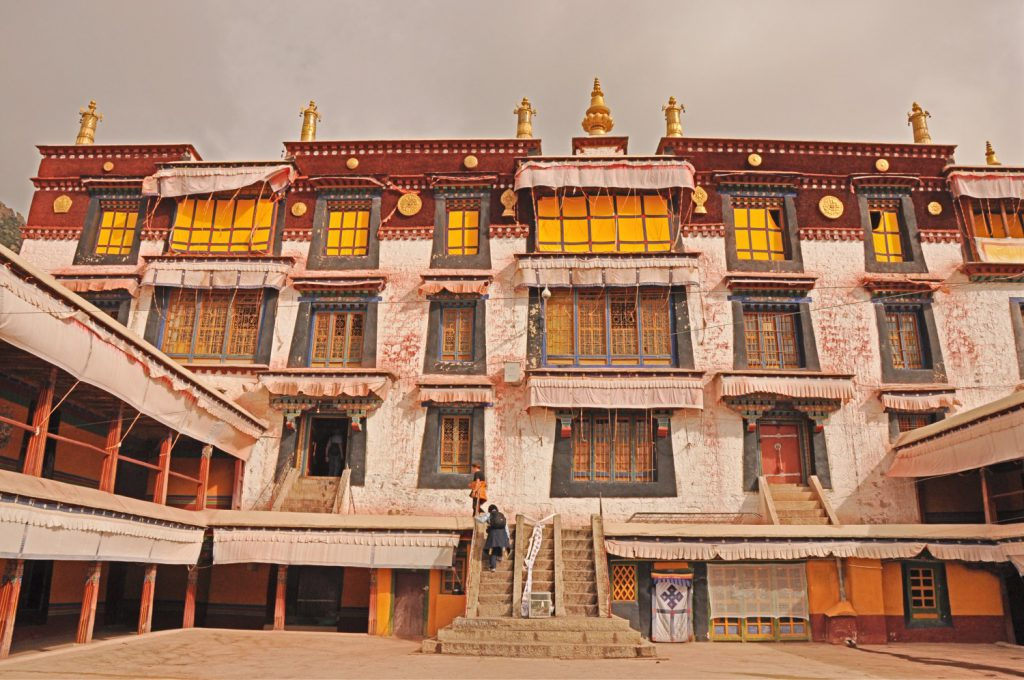 The Drepung Monastery is a special place in the Lhasa Travel Guide.
