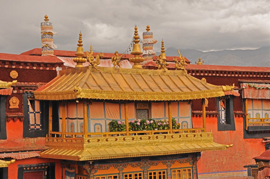 Inside the Jokhang Temple