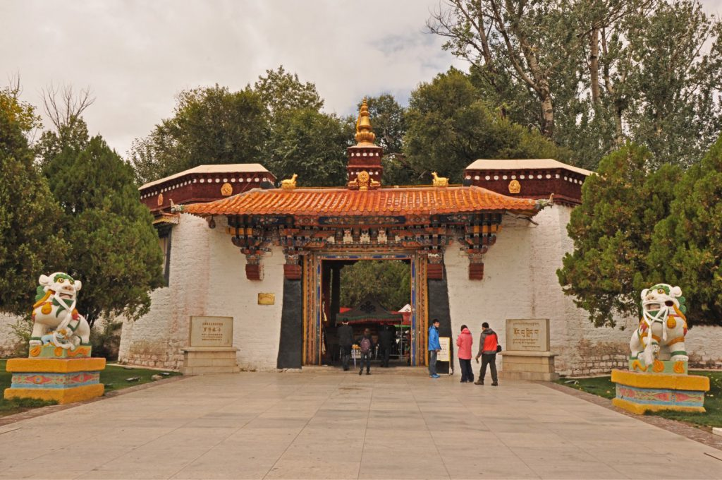 Entrance to the Summer Palace of Lhasa
