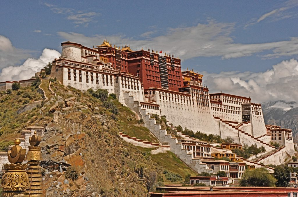 The Potala Palace is one of the most amazing buildings you will ever see.