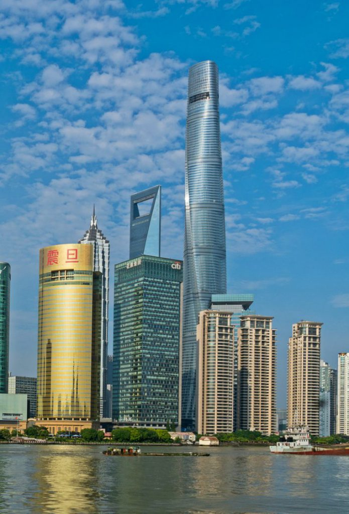 The Shanghai Tower, the tallest building in the city