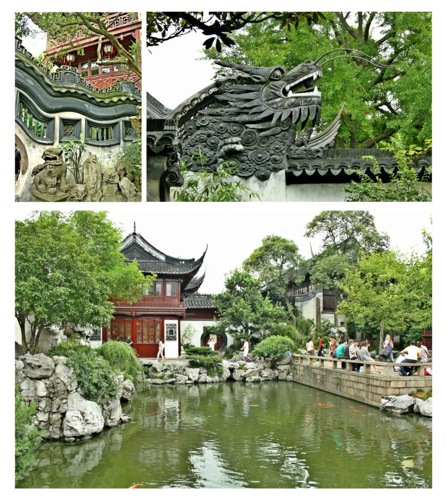 The Yu Garden is a wonderful place to take a rest and enjoy a more relaxed atmosphere