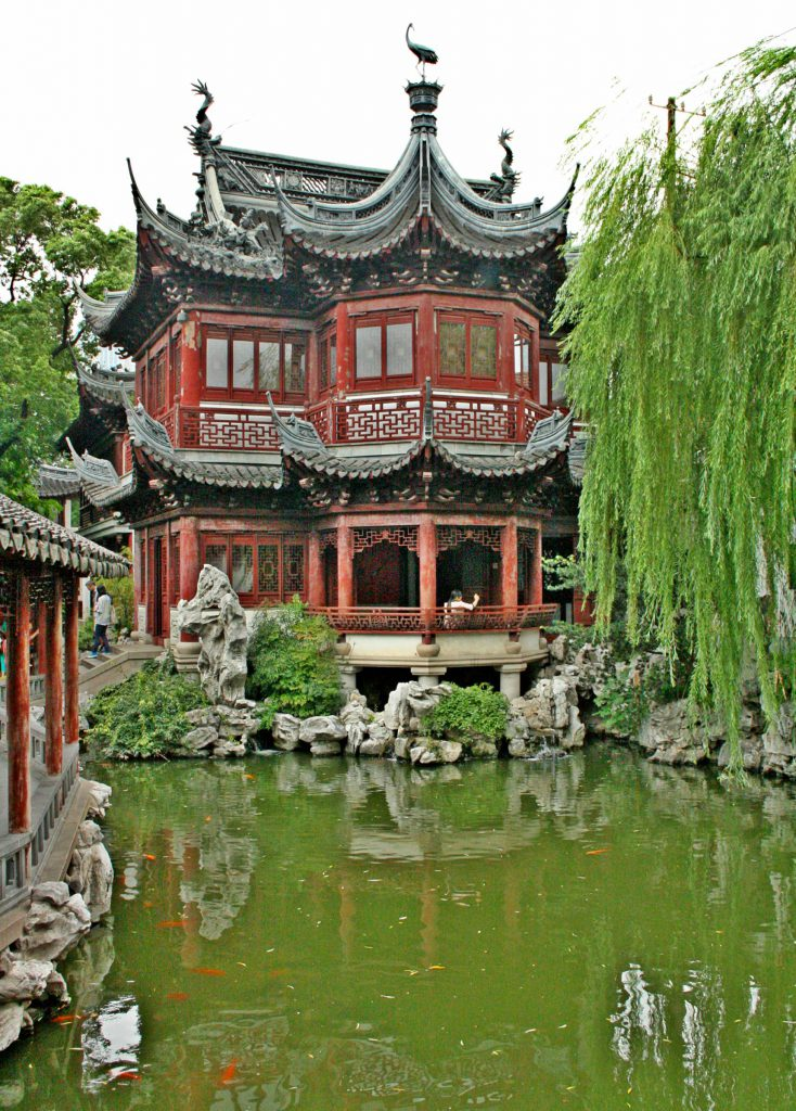 The Yu Garden is a perfect example of traditional architecture
