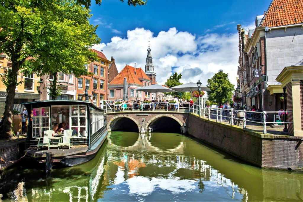 Alkmaar has a old town and is a place to see around Amsterdam.