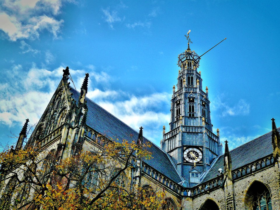 Haarlem is a great places to explore around Amsterdam.