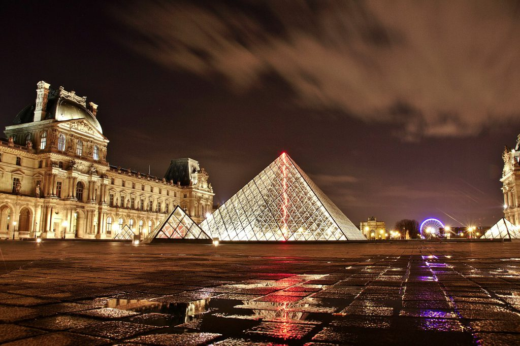 The famous Louvre in Paris is on the List of European Capital Cities Museums to see.