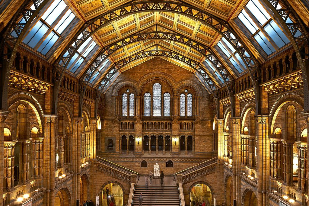 The Natural History Museum in London is on the list of the best European Capital Cities Museums.