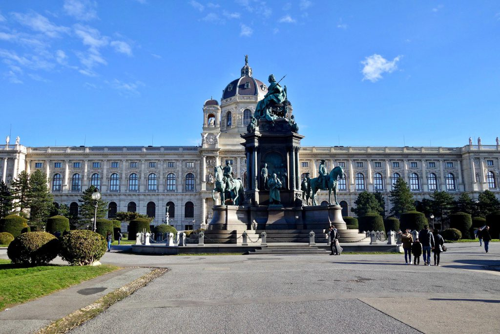The Natural History Museum in Vienna