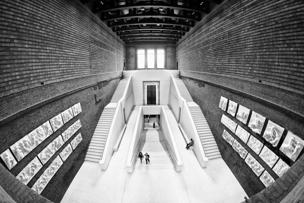 The Neues Museum in Berlin.