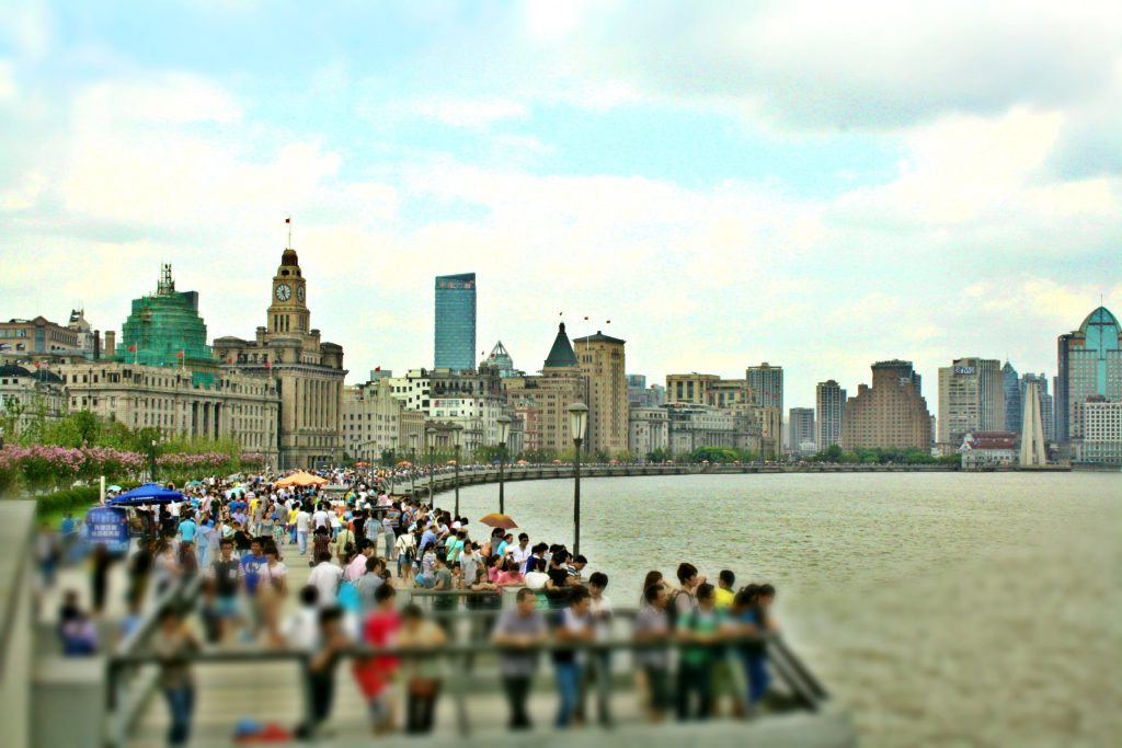 A walk along The Bund,  a highlight in Shanghai