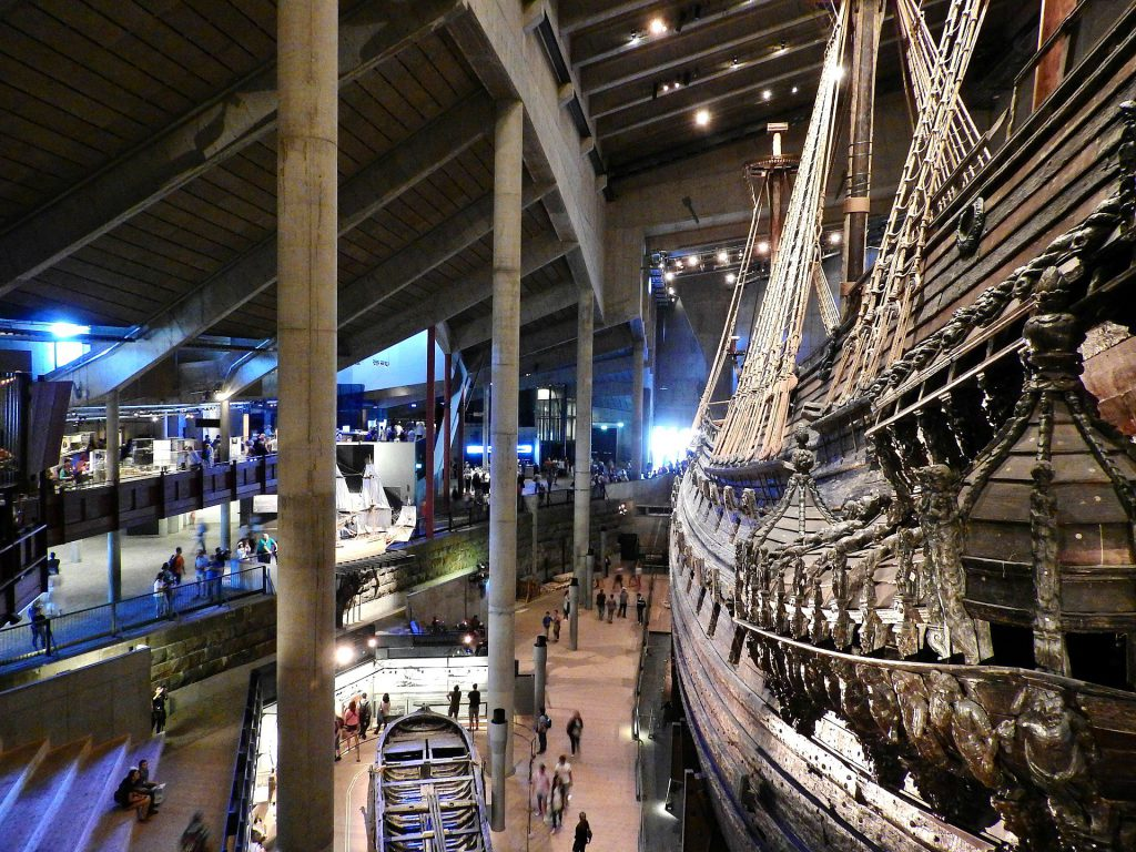 The Vasa Museum in Stockholm is part of the Top museums in European Capitan Cities.
