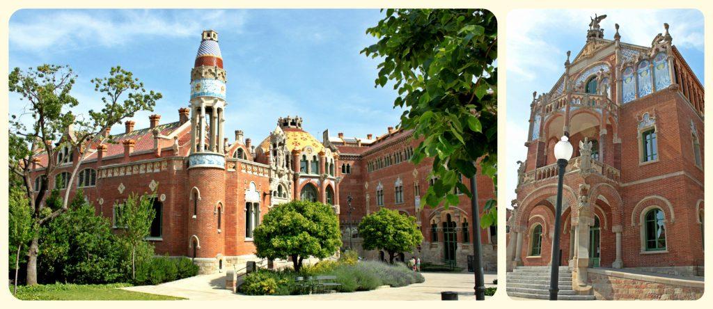 Hospital de Sant Pau in Barcelona among the best places.
