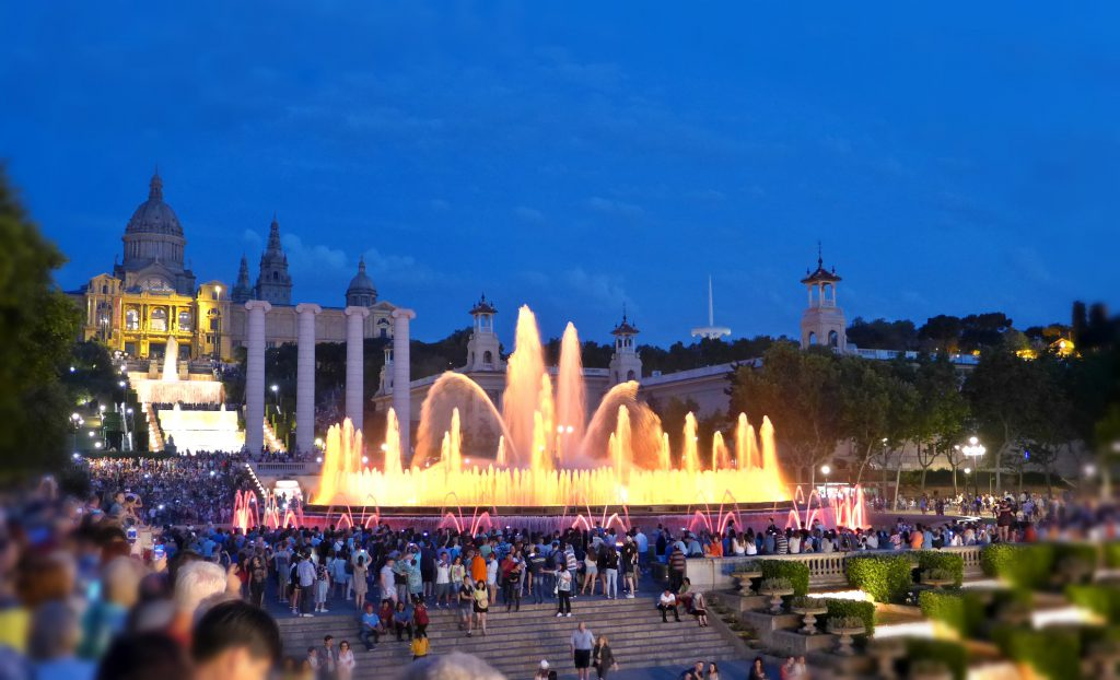 The Magic Fountain is among the best places to see in Barcelona.