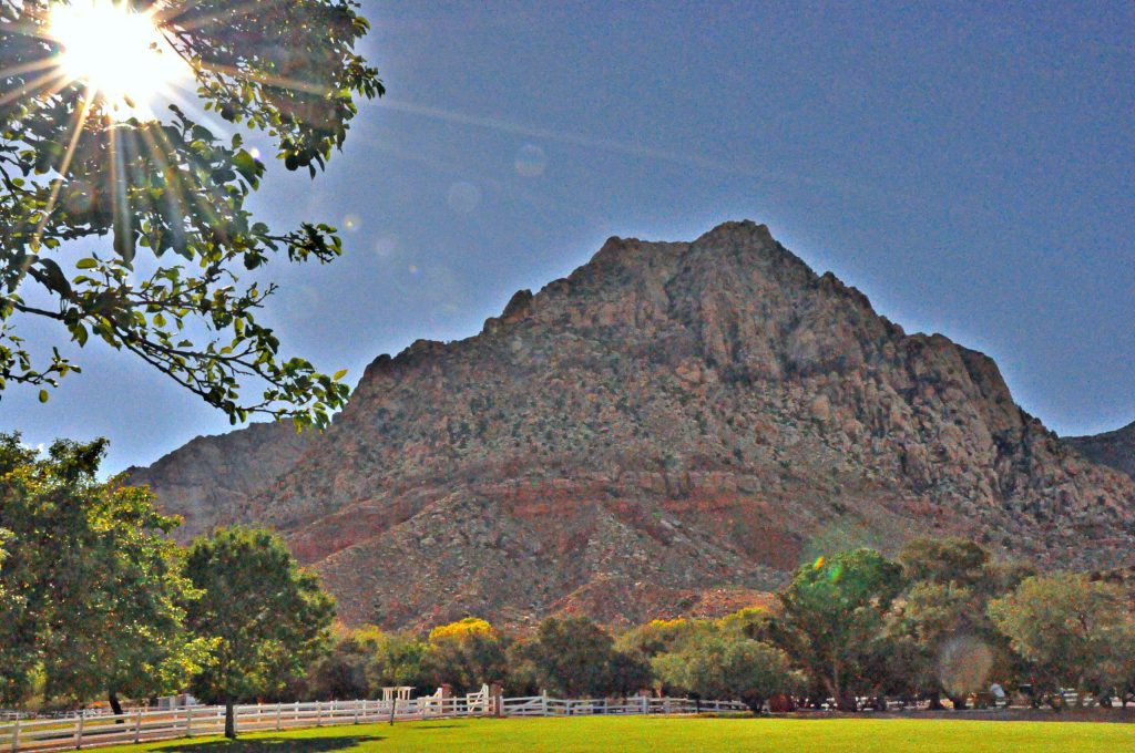 Spring Mountain Ranch outside of Las Vegas