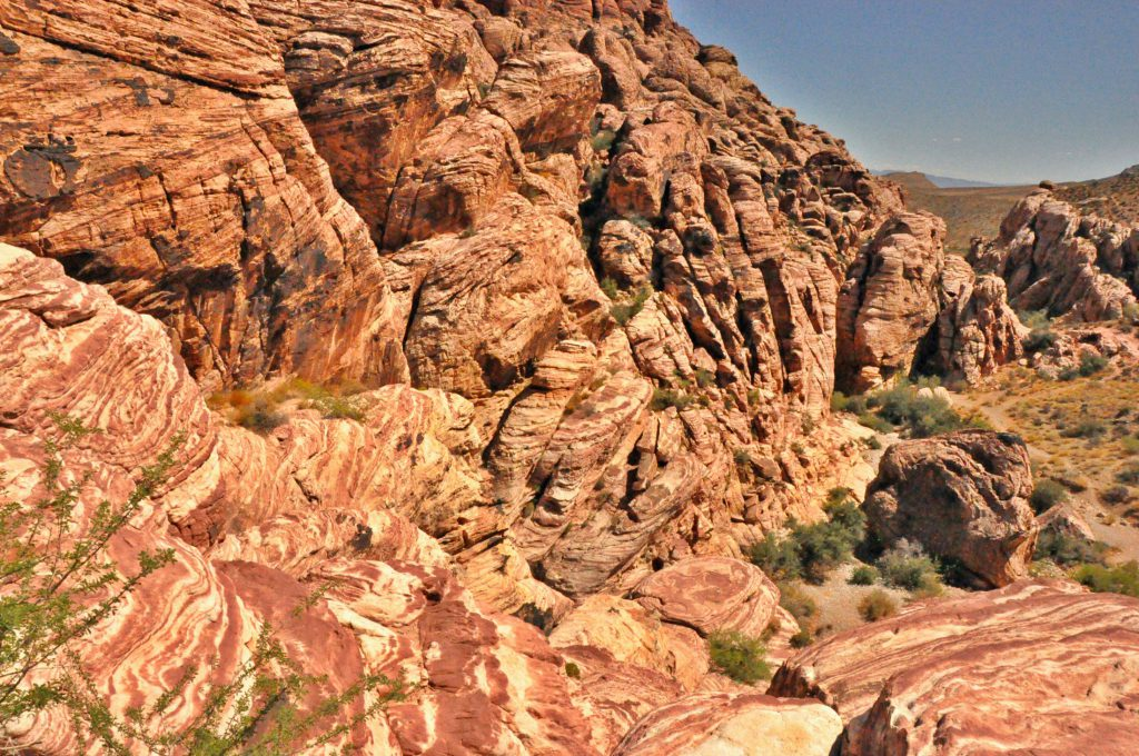 Red Rock Canyon is named after its colors.