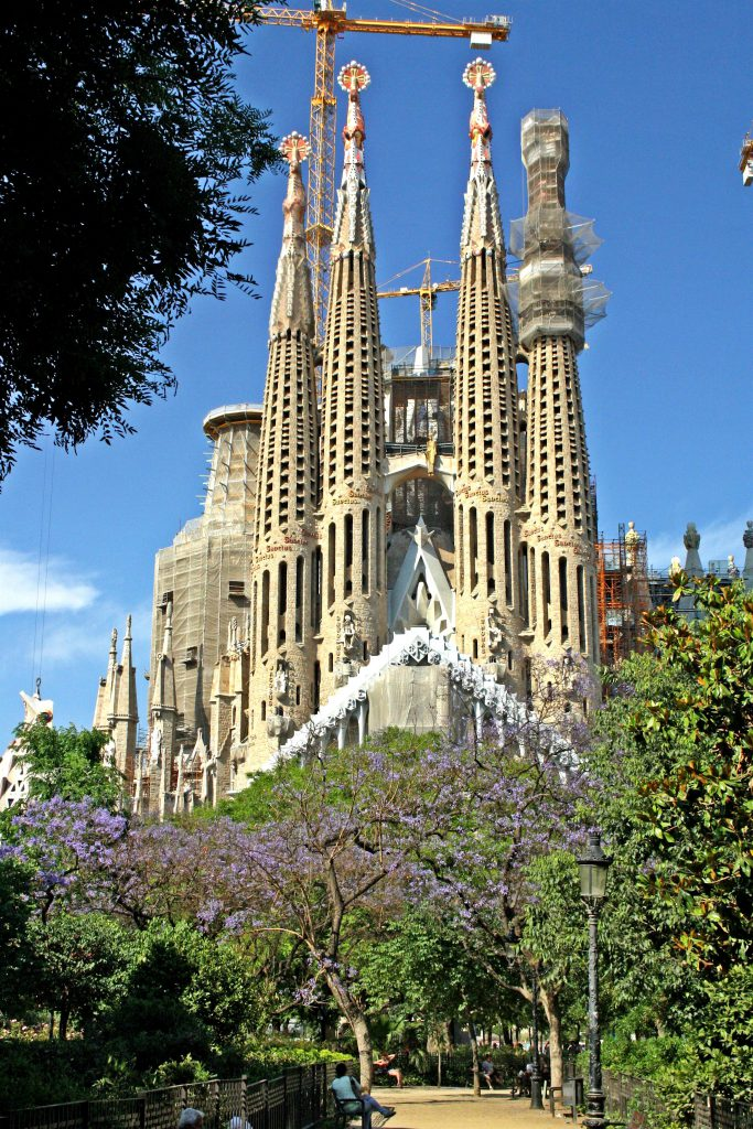 La Sagrada Família, Gaudí masterpiece is one of Barcelona Best places to see