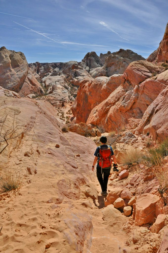 Valley of Fire has many nice hikes.