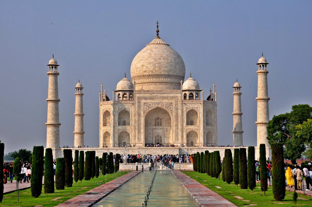 The Taj Mahal in India is voted to be amongst the New 7 World Wonders.